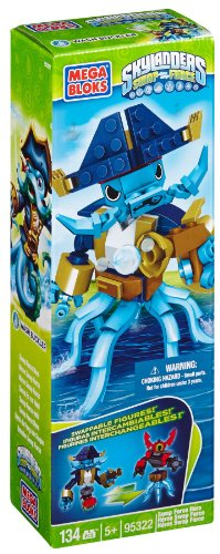 Mega Bloks Skylanders Washbukler Buildable Figure