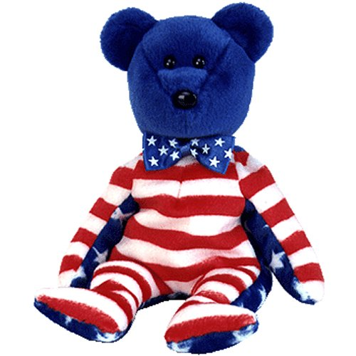 Ty Beanie Babies Liberty - Bear Blue (USA Exclusive)