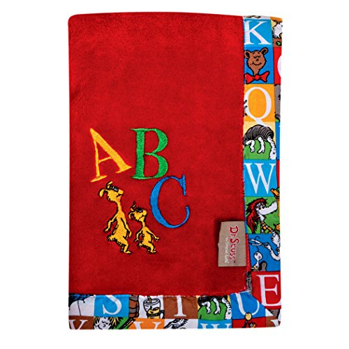 Trend Lab Dr. Seuss Alphabet Seuss Receiving Blanket