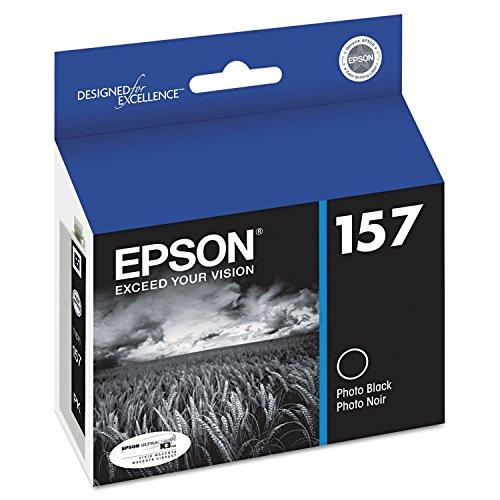 Epson UltraChrome K3 157 Inkjet Cartridge T157120 Photo Black