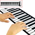 Electronic Piano 61 keys Flexible Rol...
