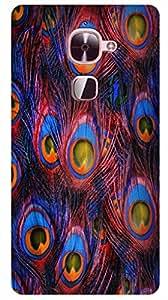 MANNMOHH DESIGNER HARD BACK COVER FOR LEECO LE 2