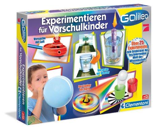 Clementoni 69252.1 Galileo - Juego de experimentos para preescolares