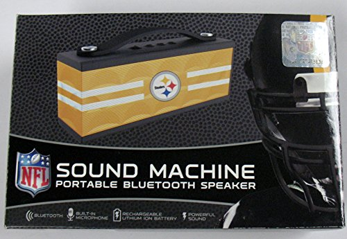 Steelers Sound Machine Portable Bluetooth Speaker from Zeikos, Inc.