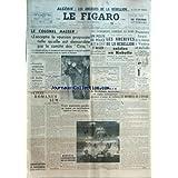 FIGARO (LE) [No 3725] du 29/08/1956 - les evenements d'afrique du nord - un poste de police attaque a alger par...