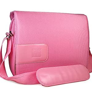 Kroo PINK Messenger Bag for 10″ Netbook