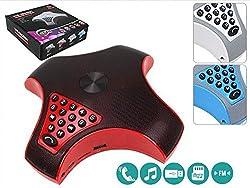 Evana Portable Premium WS-1509BT Bluetooth Speaker Caller Dailer