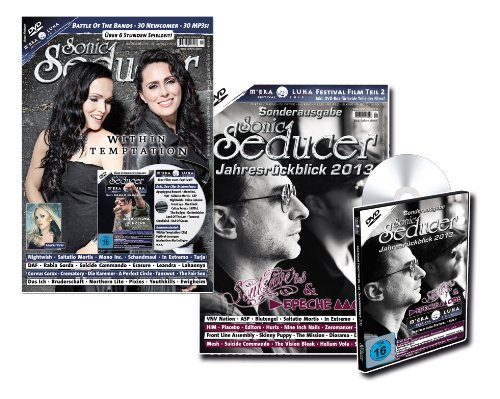 Limitiertes Bundle: Sonic Seducer 12-2013 + Jahresrückblick 2013 + 2 DVDs: M'era Luna 2013 mit über 10 Stunden Spielzeit, Bands: Depeche Mode, Saltatio Mortis, Placebo, Blutengel u.v.m.