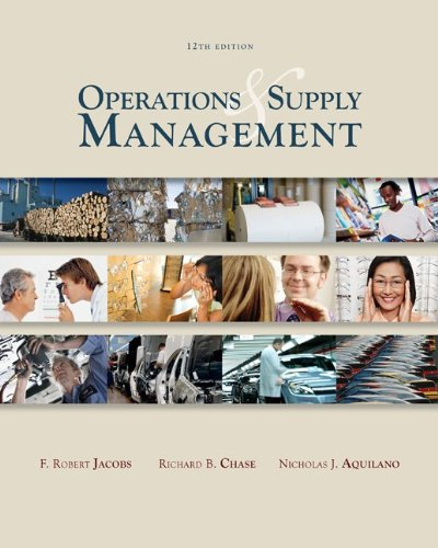 image of Operations & Supply Management wStudent DVD Rom (McGraw-Hill/Irwin Series Operations and Decision Sciences)