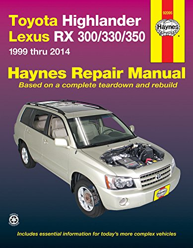 toyota-highlander-lexus-rx-300-330-350-1999-thru-2014-haynes-repair-manual-paperback