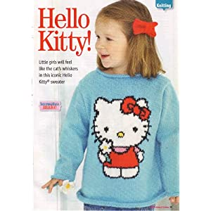 Knitting Pattern For Hello Kitty Sweater : Sewing and Knitting Patterns Ideas: Girls Knitting Patterns