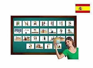 Amazon.com: Tarjetas de vocabulario - Nacionalidades - Spanish