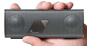 Soundmatters foxLV2 Platiunum Portable Pocket-Sized Bluetooth Speaker (Silver)