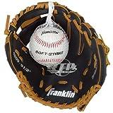 Franklin Sports Black & Tan Baseball Glove with Ball by Franklin
