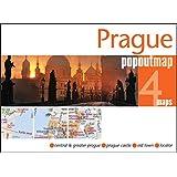Prague PopOut Map - handy pocket size pop up map of Prague (Popout Maps)