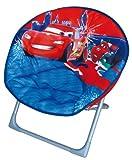 Fun House 711577 Cars - Silla acolchada para niños, color rojo