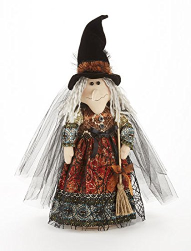 Delton Products 14 Witch Stump With Orange Floral Dress юбка strawberry witch lolita sk