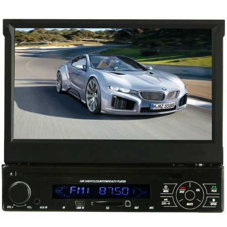 Absolute AVH4000 In-Dash 7-Inch Touchscreen TFT-LCD Monitor with DVD, MP3, CD Player, Front Panel USB and AUX Input