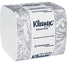 KCC48280 - Kleenex Hygienic Bathroom Tissue, 2-ply