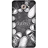 FUSON Designer Back Case Cover For Samsung J7 Max G615F/DS, Samsung Galaxy On Max, Samsung Galaxy J7 Max (Shoes Circle Youth Cool Friendship Foot Beautiful Red)