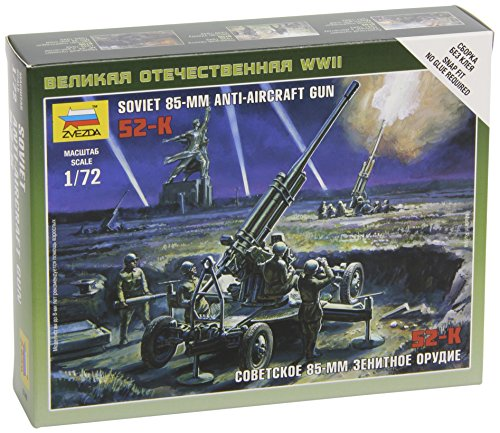Zvezda Models 1/72 Soviet 85mm Anti-Aircraft Gun