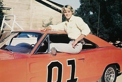 John Schneider Dukes Of Hazzard Dodge Charger 24x36 Poster