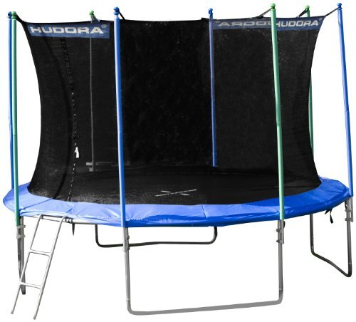 hudora trampolin buy hudora trampolin mit sicherheitsnetz. Black Bedroom Furniture Sets. Home Design Ideas