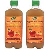Shrey's Apple Cider Vinegar With Honey – 500 Ml | Natural & Unfiltered With Mother Of Vinegar (Pack Of 2)