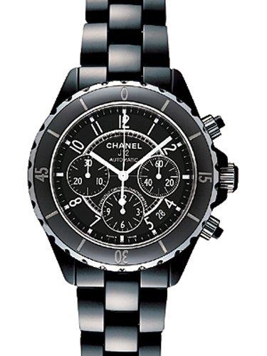 [シャネル] CHANEL 腕時計 J12 ブラックセラミック クロノグラフ H0940 メンズ 新品 [並行輸入品]