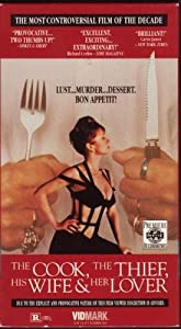 The Cook, the Thief, His Wife and Her Lover [VHS]