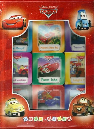 Disney Cars Book Block