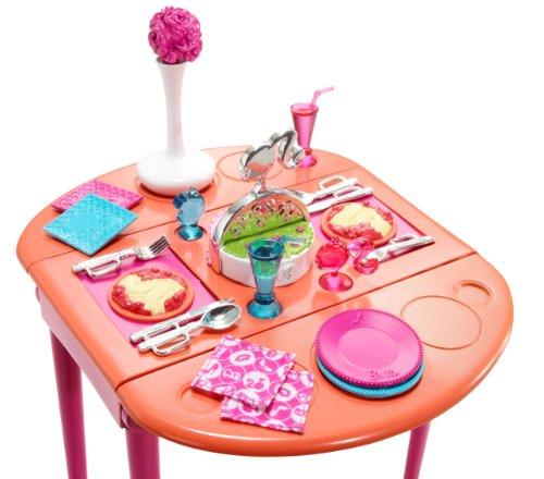 Barbie Dining Room Set: Barbie Dinner To Dessert Dining Room Set Food, Beverages Tobacco Food Items Frozen Desserts
