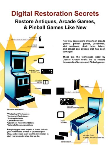 Digital Restoration Secrets: Restore Antiques, Arcade Games,& Pinball