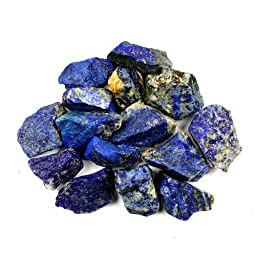 Crystal Allies Materials: 1/2lb Bulk Rough Lapis Lazuli Stones from Afghanistan - Large 1\