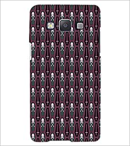 PrintDhaba Pattern D-6083 Back Case Cover for SAMSUNG GALAXY A5 (Multi-Coloured)