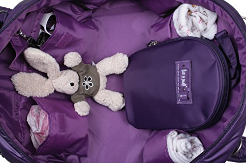 Baby On Board Sac à Langer Violet