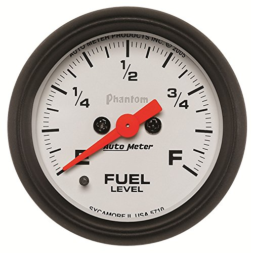52mm AUTOMETER Ultra-Lite ELECTRIC UNIVERSAL GM CHEVY FUEL LEVEL GAUGE 2-1//16/""