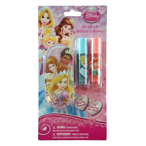 Disney Princess Lip Balm Set with Mini Tin Carrying Case