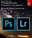 Adobe Creative Cloud Photography plan (Photoshop CC + Lightroom) [Prepaid Card] cover image