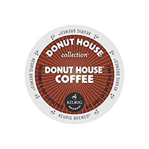 Donut House Coffee Collection, Green Mountain Coffee K-Cup Portion Pack for Keurig K-Cup Brewers