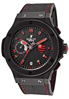 Hublot Flamengo Bang Black Rubber Gummy Alligator Mens Watch 318.CI.1123.GR.FLM11 by Hublot
