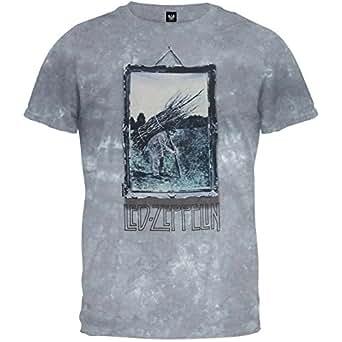 led zeppelin 4 tie dye t shirt x large