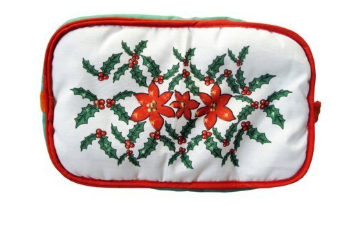 Cameron'S Products 12-1/2 By 8-Inch Bread Warmer, Festive Holly Design