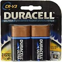Duracell Ultra Digital Camera Battery Cr-V3 Batteries 2 Count