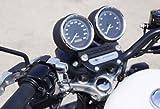 ベビーフェイス(BABY FACE) ヘルメットロック ミラーホルダータイプM10 HD(ハーレーダビッドソン)専用・メッキキーシリンダー ブラック 009-LCHD4BK