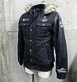 ACE CAFE LONDON SC Hooded Fur Quilt JK BK WS