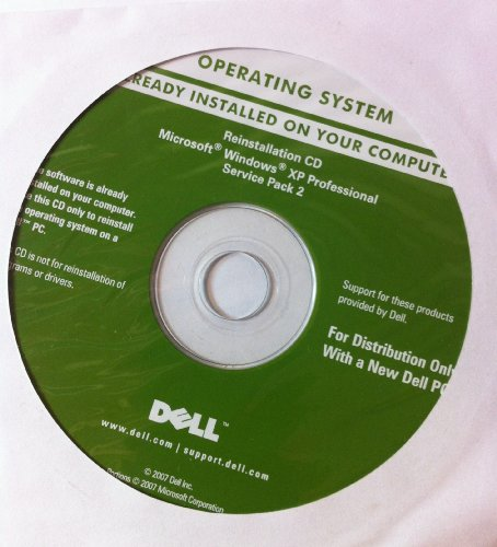 Dell Operating System Reinstallation CD Microsoft