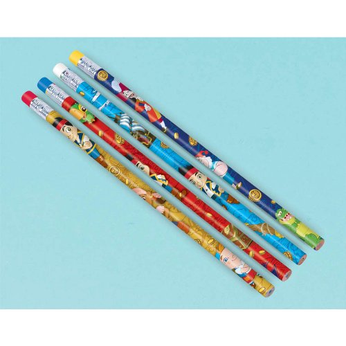 Jake & the Never Land Pirates Pencils (12ct) - 1
