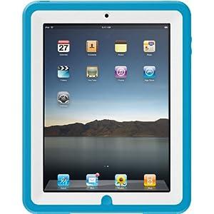 Otterbox APL2-IPAD1-C5-C4OTR iPad 1G Defender Case (White Plastic/Blue Silicone)
