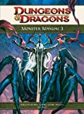 Monster Manual 3: A 4th Edition D&D Core Rulebook (Dungeons & Dragons 4th Edition)